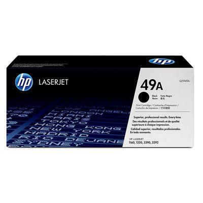 کارتریج پرینتر Hp Laserjet 1320 مدل ۴۹a کارکرد ۲۵۰۰ برگ سازگار با پرینترهای Hp 1160 1320 3390 3392 Toner Cartridge Micr Toner Laser Printer