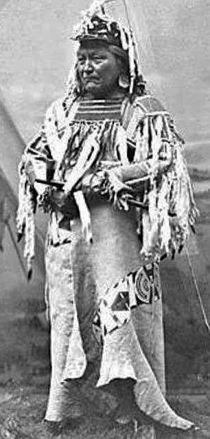 YELLOW BEAR (Umatilla/Walla Walla) , 1890   Native American