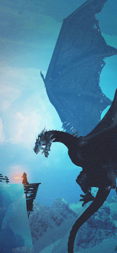 Wallpaper Of The Week Best Game Of Thrones Wallpapers For Phone Game Of Thrones Dragons Game Of Thrones Poster Instagram