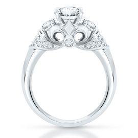 The Artiste Regal Engagement Ring By Scott Kay In 14k Gold Artiste Regal Artiste By Sco Antique Diamond Rings Semi Mount Engagement Rings Helzberg Diamonds