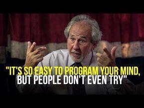Program Your Mind While You Sleep Dr Bruce Lipton Youtube Mindfulness Mind Power Lipton