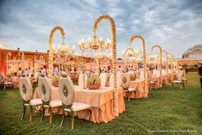 Puneet And Aashi Jw Marriott Jaipur Resort Spa Jaipur Weddings Weddingsutra Indian Wedding Decorations Indian Wedding Theme Unique Wedding Decor