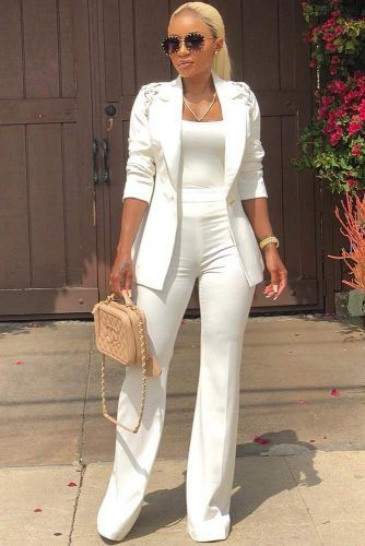 All White Outfits For The Ultimately Fresh Look ★ See more: http://glaminati.com/all-white-outfits-fresh-look/