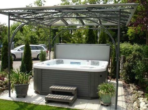 Whirlpool im Garten - gönnen Sie sich diese besonde Art Entspannung - whirlpool im garten selber bauen