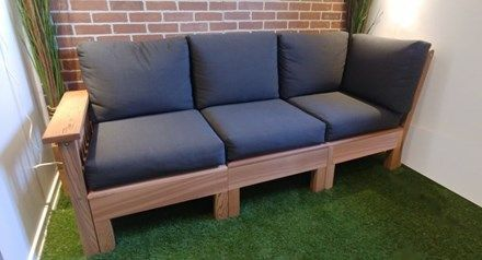 Sofa Modulaire 3 Places 1 Dos 1 Bras Outdoor Furniture Outdoor Sofa Outdoor Decor