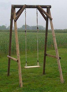 Fruitful Finds Diy Swing Set Diy Swing Swing Set Plans Wooden Swings
