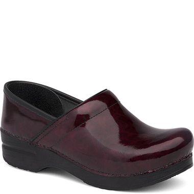 Dansko Garnet Patent Leather Clog