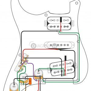 Wiring Diagram Fender Strat 5 Way Switch New Hsh Wiring Diagram for  Stratocaster Wiring Diagram Update - MorningCulture.co | Gitar, Müzik | Electric Guitar Hsh Wiring Diagram |  | Pinterest
