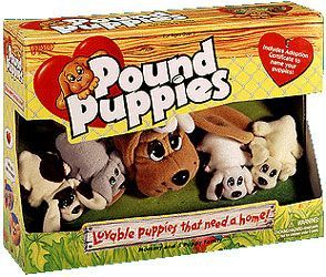 Pound Puppies And Pur R Ries In All Their Forms Poundpuppies