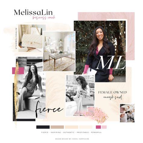 Melissa Lin Brand Vision Board