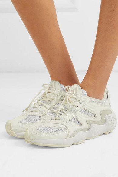 adidas FYW S 97 Sneakers   Footwear WhiteOff White Oracle Tint   EF2042