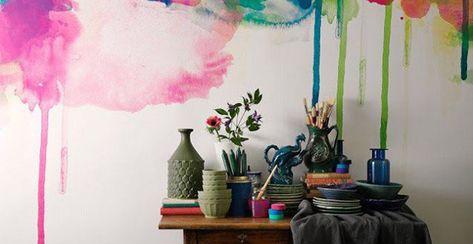 Un modo semplice ed economico per ravvivare l'aspetto del. Idee Per Dipingere Le Pareti Sfondi Acquerellati E Paesaggi Naturali Pareti Acquerello Sfondo Acquerello Idee
