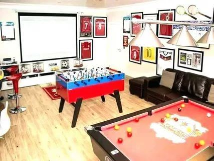 25 Ideal Game Room Ideas Family Forteens Mancaves Small Kids Videogames 25 Ideal Game Room Id Game Room Decor Game Room Furniture Video Game Room Decor