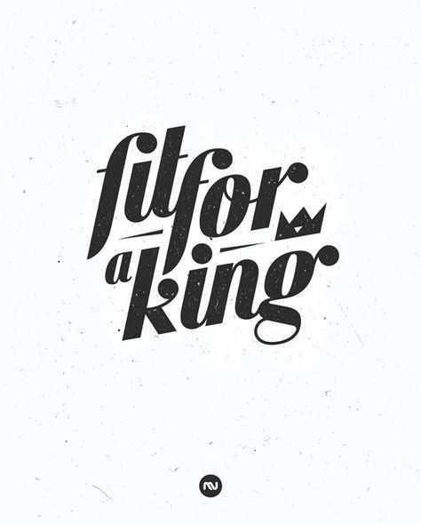 Fit for a King - Mircea Vlad. Graphic Design & Illustration Portfolio.