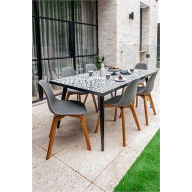 Find Hartman Milan Ceramic Dining Table At Bunnings Warehouse