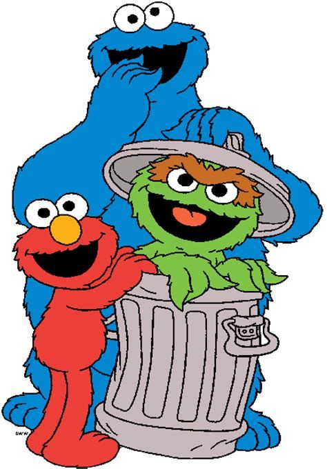 Sesame Street Characters Cartoon Pictures Secondtofirst Com