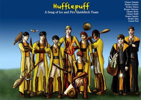 Hufflepuff Asoiaf Quidditch 2 by guad on DeviantArt