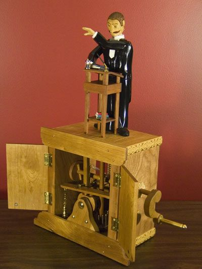Machini the Marvel performing The Study of Levitations - Automaton by Dug North