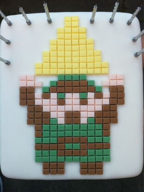 Zelda Cake.  Someone I know is getting this for their birthday.  ♥