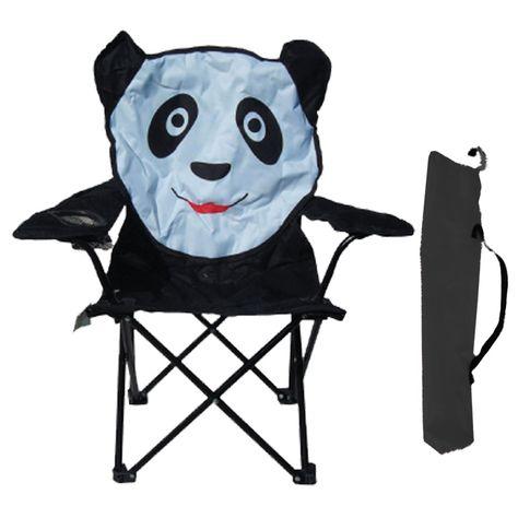 Sedie Pieghevoli Per Il Mare.Justmoment Sedia Pieghevole In Ferro Panda Con Tracolla Per