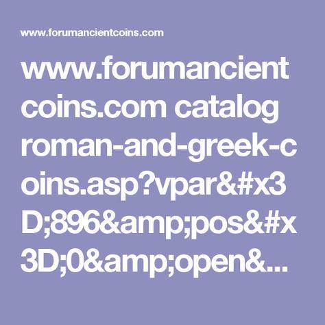 www.forumancientcoins.com catalog roman-and-greek-coins.asp?vpar=896&pos=0&open=54