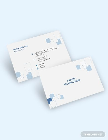 It Company Business Card Template Word Psd Apple Pages Google Docs Illustrator Publisher Business Card Template Word Business Card Template Design Company Business Cards