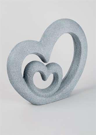 Large Double heart Ornament (38cm x 37cm x 7cm)