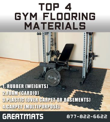 Gym Flooring Materials Best Types Of Gym Flooring Flooring Linoleum Flooring Laminate Tile Flooring