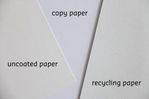 Cardstock Matte Uncoated Vs 5000 Crafts Kraft Business Cards