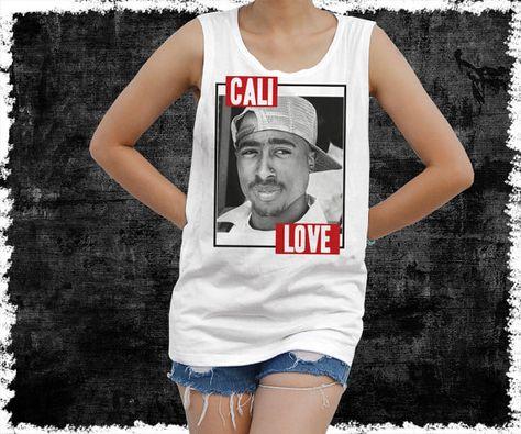 2Pac Tupac Shakur Shirt  women's singlet Tank Top shirt by vezaa