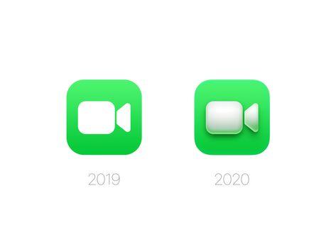 Facetime Icon Macos Big Sur Facetime Apple Design Icon