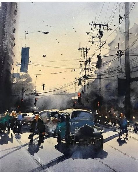 99+ Creative Watercolor Art Work (Watercolor Paintings) - 4rt
