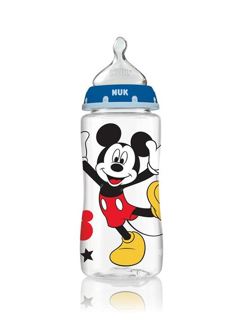 Cartoon Disney Mickey Mouse First Choice+Baby Bottle 6-18 Months 300ml Black 1pc
