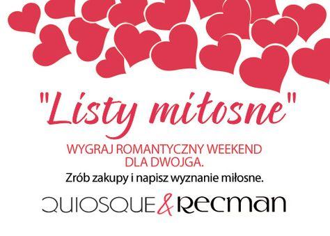 """Modowy #Konkurs #Walentynkowy """"Listy miłosne"""""""