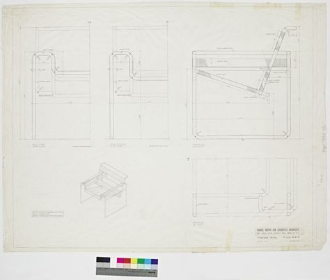 Tubular Chair Wassily Chair March 35 1958 Chairdrawing Wassily Chair Marcel Breuer Chair Drawing