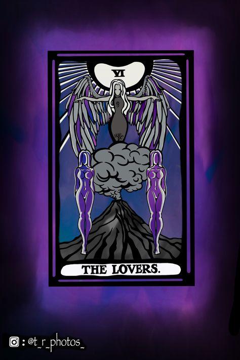 #loverstarot #tarot #tarotdesign #loverstarotcard #graphicdesign #tarotillustration