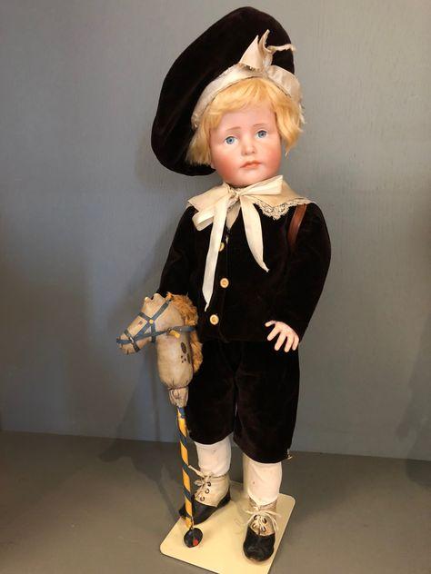 K&R 114 Hans 50 cm original antique Outfit