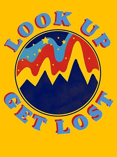 Look Up Get Lost Photographic Print Aesthetic Space Wall