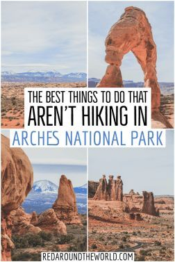 The Best Things To Do In Arches National Park If You Don't Hike Short on time? Not a hiker? Don't skip Arches National Park in Moab! This is a guide to what to do in Arches National Park if you don't hike. National Parks Map, Capitol Reef National Park, National Park Posters, Grand Canyon National Park, Parque Nacional Do Grand Canyon, Nationalparks Usa, Canyonlands National Park, Us Road Trip, Bryce Canyon