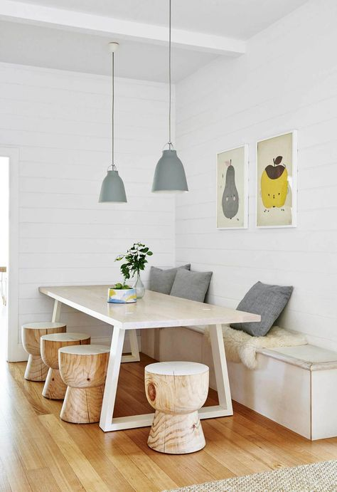 A Californian bungalow in Barwon Heads was given a sunny makeover