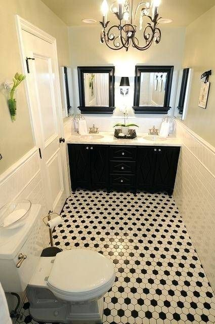 Pin On Bathroom White black bathroom decorating ideas