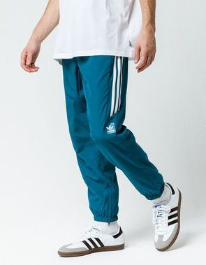 ADIDAS Classic Wind Teal Blue Mens Track Pants | paradiso in