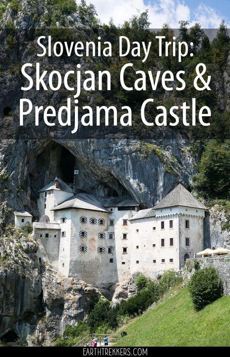 Visit Skocjan Caves and Predjama Castle on a day trip from Ljubljana or Piran, Slovenia. #slovenia #daytrip #travel #europe