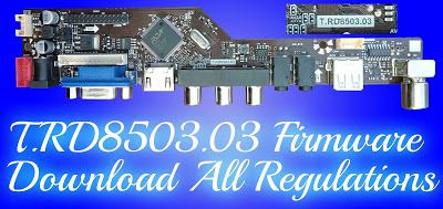 T RD8503 03 firmware download All Regulations Free New