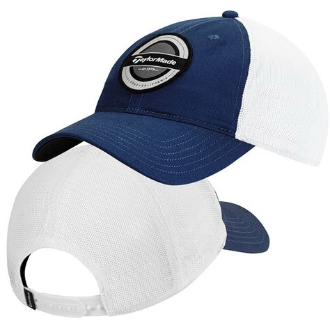 a7604136d33 Taylormade Classy Trucker Hat...cSemi structured construction with  adjustable snapback closure. Pre-washed mesh and moisture wicking sweatband.