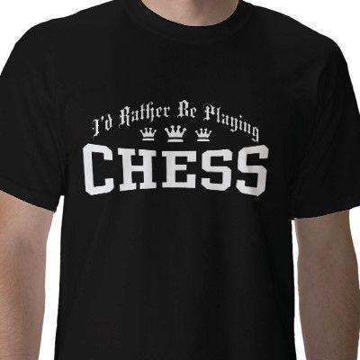 Funny Printed T Shirt Chess Horse Knight Meme Geek Birthday Present Gift