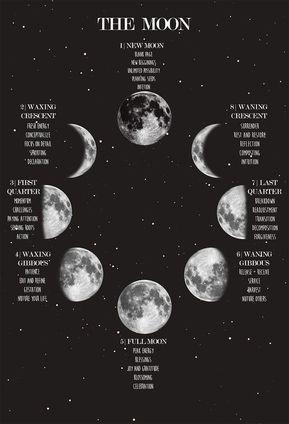Wiccan Spells, Magick, Moon Spells, Green Witchcraft, Magic Spells, Ciel Nocturne, New Moon Rituals, Lunar Phase, Moon Magic
