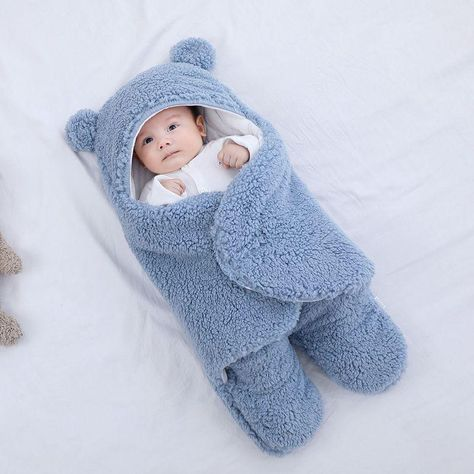 Extra 1 Baby Swaddle Blanket One Time Only Offer! - SKY BLUE
