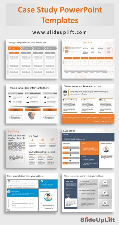 Case Study PowerPoint Templates   SlideUpLift