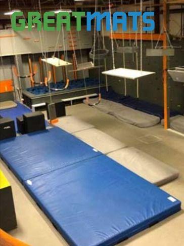 What Makes A Good Stunt Mat Safety Denim Folding Landing Options In 2020 Gymnastics Mats For Home Stunts Gymnastics Mats